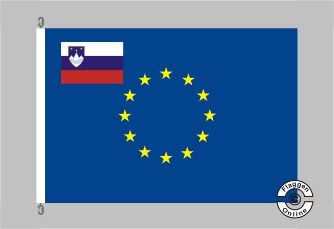 Slowenien Europa Flagge