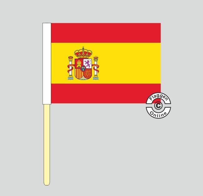 Spanien Stockflagge