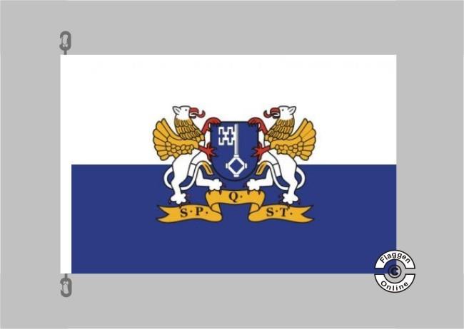 Fahne Flagge Quickborn 30 x 45 cm Bootsflagge Premiumqualität