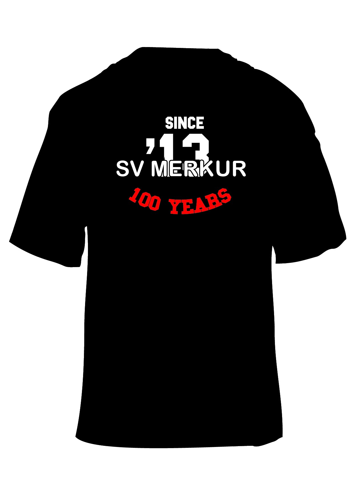 T-Shirt 100 Jahre SV Merkur (Nr.2)