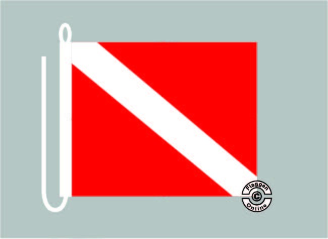 Signalflagge Taucherflagge Michigan