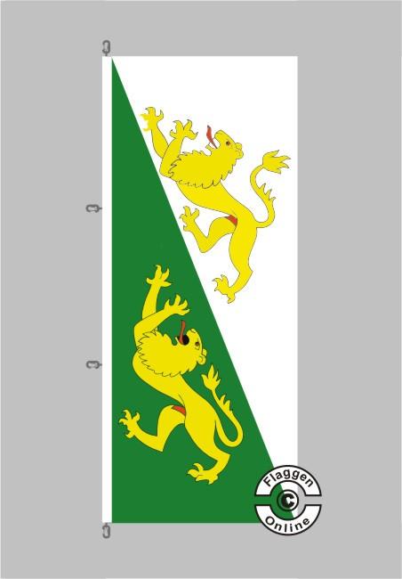 Thurgau Flagge Hochformat