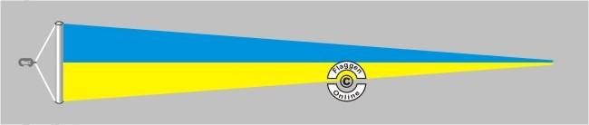 Ukraine Langwimpel mit Querholz