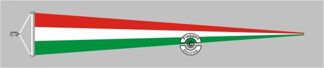 Ungarn Langwimpel mit Querholz