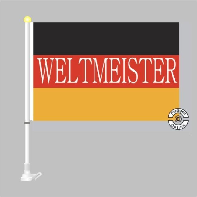 Weltmeister Autoflagge