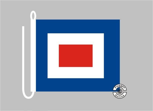 Signalflagge WHISKEY Flagge