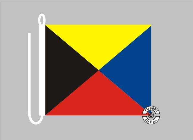 Signalflagge ZULU Flagge